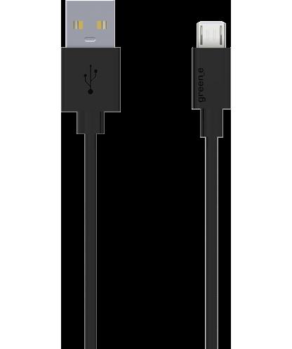 Câble écologique USB/micro USB noir...