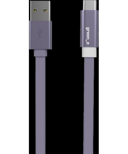 Câble plat USB C/USB Green_e