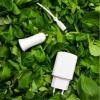 Choisir la gamme énergie Just Green c'est déjà un petit pas 💚 Ils sont conçus à base de plastique recyclé et recyclable et grâce à la Recyclerie on se charge du recyclage de votre ancien chargeur ! C'est simple et gratuit ♻️ . . . #bejustgreen #beatplasticpollution #recyclable  #recycle #larecyclerie